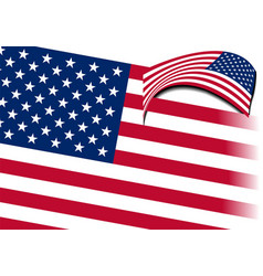 4th july - independence day of united states vector image vector image