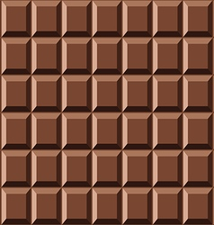 Seamless chocolate texture vector