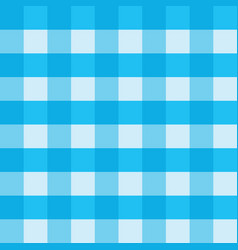 blue gingham tablecloth seamless background vector image vector image