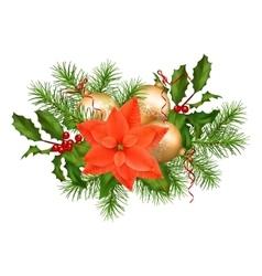 Christmas holiday garland vector