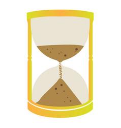 Isolated sand clock vector