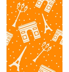 paris - abstract seamless background vector image
