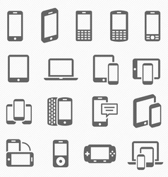 Responsive design icons vector