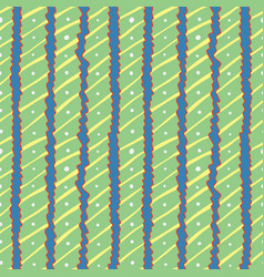 seamless pattern of wavy stripes vector image vector image