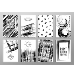 Set of creative universal cards Design for banner vector image vector image