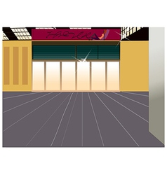 Shopfront Background vector image