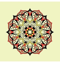 Mandala floral ethnic abstract decorative vector