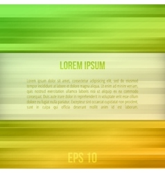 Green straight lines abstract background vector