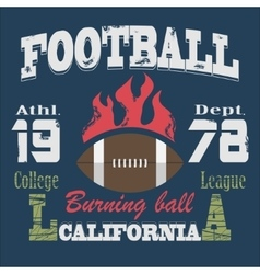 California sport typography t-shirt vector