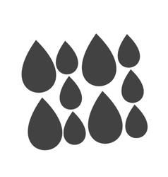Light Rain vector image vector image