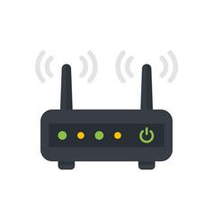 Router modem vector