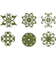Vintage symbols vector