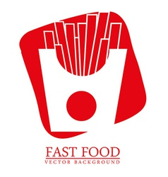 food menu design vector image vector image