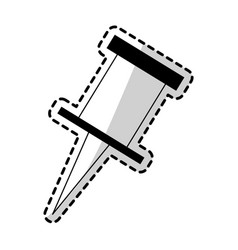 Push pin icon image vector