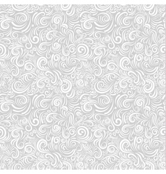 White floral paper background vector