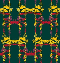 Seamless ikat pattern2 vector