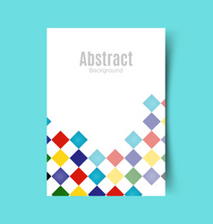 Abstract report cover converted vector