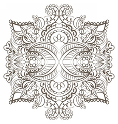 Classic decor pattern element vector