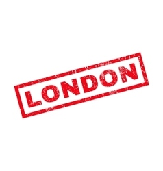 London rubber stamp vector
