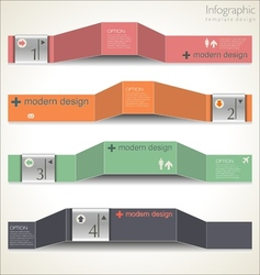 Modern Design Layout vector image vector image