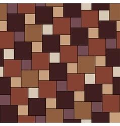 Warm brown tiles seamless pattern vector