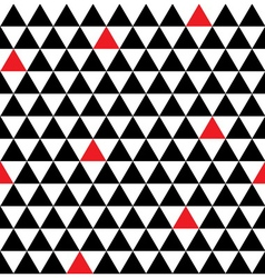 Triangle geometric seamless pattern vector