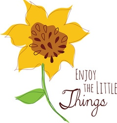 Little things vector