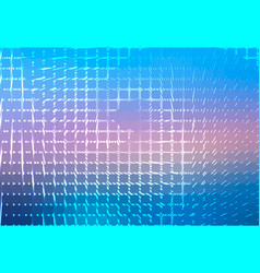 Blue shades pink spiral rounded mosaic background vector