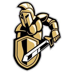 titans mascot vector image vector image