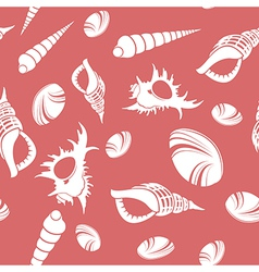 Shell seamless patter 2 vector
