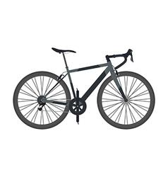 80blackbike vector image vector image