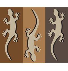Geckos vector