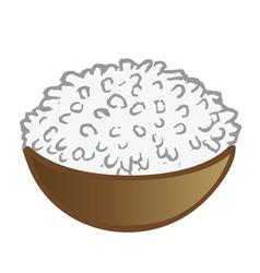 Rice bowl vector