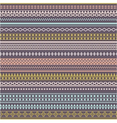 Seamless tribal texture Vintage ethnic tribal vector image