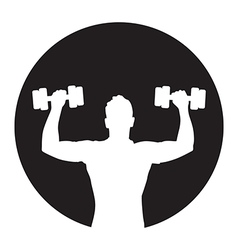 weights icon vector image