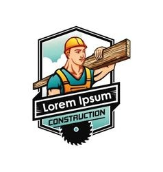 Icon for industry and construction business vector image