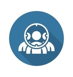 Customer focus icon flat design vector