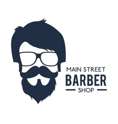 Professional barber shop icon vector
