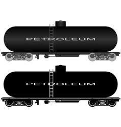 Railway tank-1 vector image