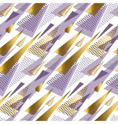 Xmas seamless triangle modern pattern violet color vector