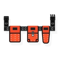 Mobile tool belt vector