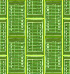 Sketch football field pattern vector