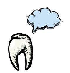 Tooth icon dentistry symbol-100 vector