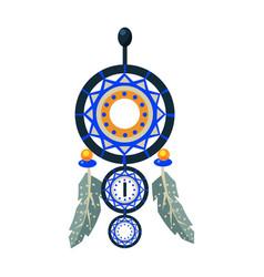 Dreamcathcer carft decorative item native vector