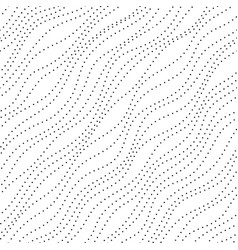 Wave dots pattern vector
