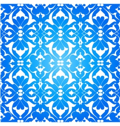 Blue ottoman decorative background version one vector