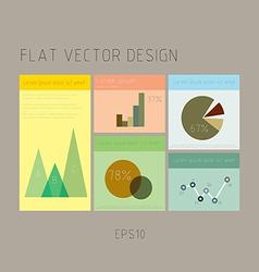 Retro design vector image