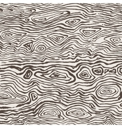 Drawn by hand ink wood texture vector image