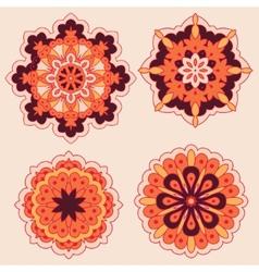 Arabesques decorative element vector
