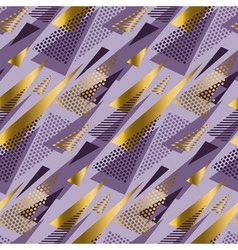 Christmas seamless triangle modern pattern violet vector